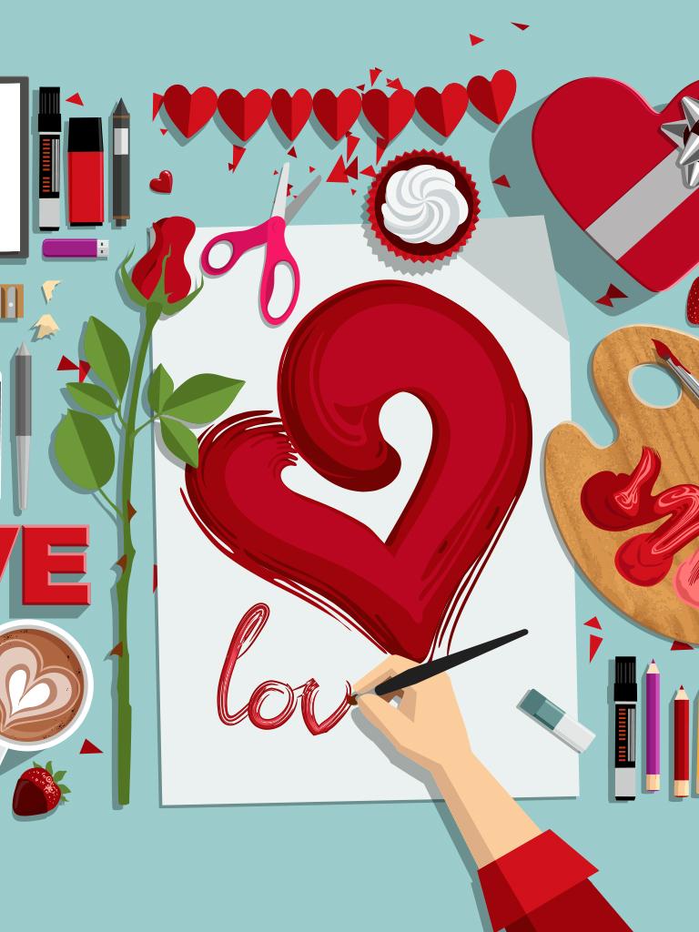 DIY Valentine's card