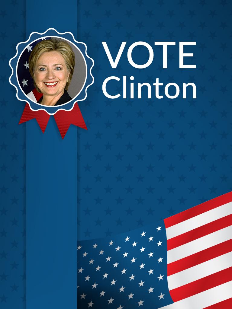 Vote Clinton