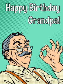Happy Birthday Grandpa!
