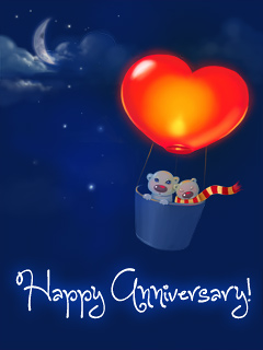 Anniversary Hot Air Balloon