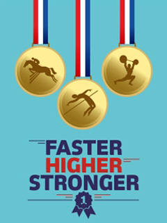 Faster Higher Stronger2