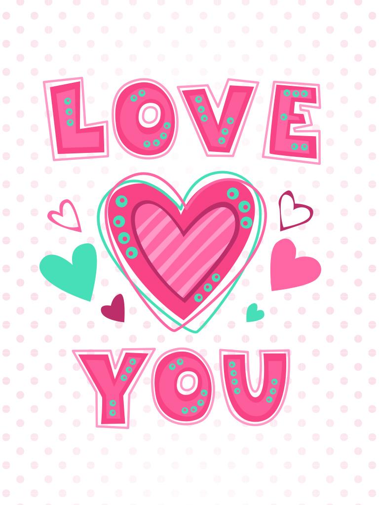 Pink Dots Card