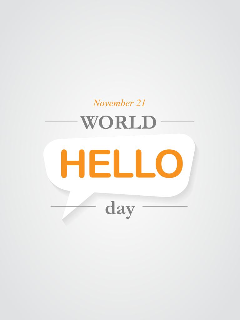 World Hello Day