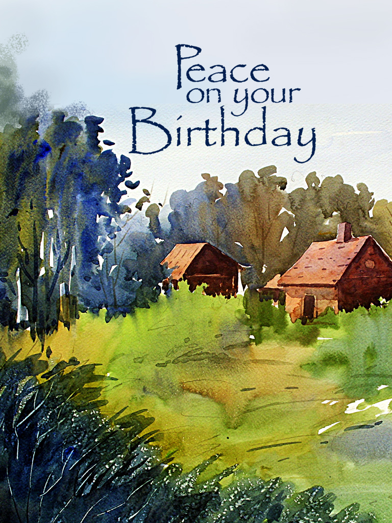 Peace on your birthday